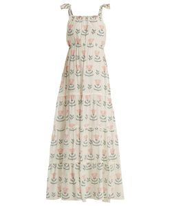 Athena Procopiou   Graceful Beauty Gathered Silk Dress
