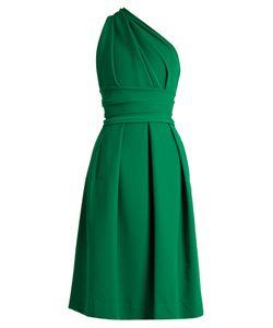 Preen by Thornton Bregazzi | Athena One-Shoulder Stretch-Cady Dress
