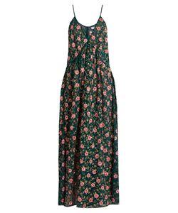 Ashish | -Embellished Side-Slit Silk-Georgette Dress