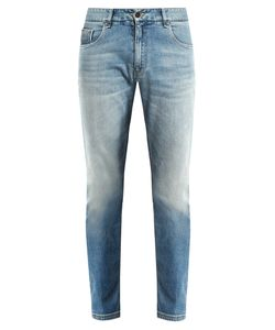 Fendi | Slim-Leg Faded Jeans