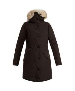 Canada Goose | Rossclair Fur-Trimmed Down Coat