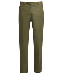 Etro | Stretch-Cotton Panama Trousers