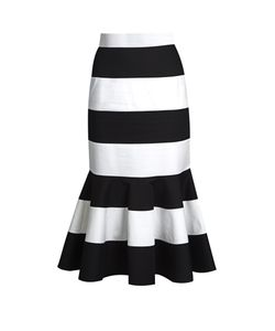 Dolce & Gabbana | Fla-Hem Striped Skirt