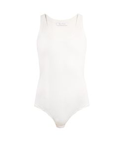 Ryan Roche | Sleeveless Ribbed-Jersey Silk Body