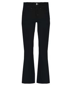 M.i.h Jeans | Lou High-Rise Fla Cropped Jeans