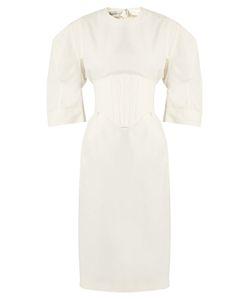 Stella McCartney | Aleena Round-Shoulder Corset Dress