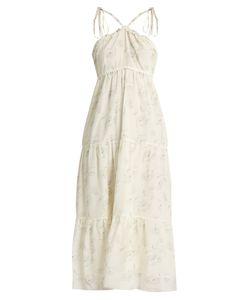 Athena Procopiou | Romance In The Wind Cotton-Blend Dress