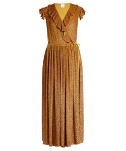 Ashish | Sequin-Embellished Silk-Georgette Wrap Dress
