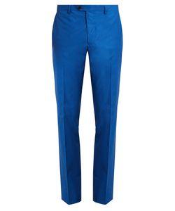 Etro | Slim-Leg Cotton-Blend Trousers
