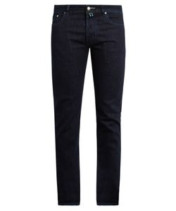 JACOB COHЁN | Tailo Slim-Leg Stretch-Denim Jeans