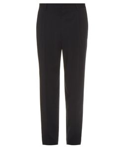 Lemaire | Pleated Wool-Blend Trousers