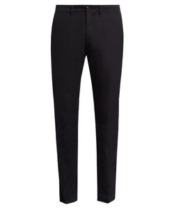Moncler | Slim-Leg Cotton-Blend Trousers