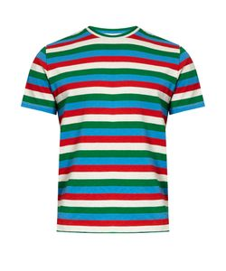 Orley | Maggia Striped Cotton T-Shirt