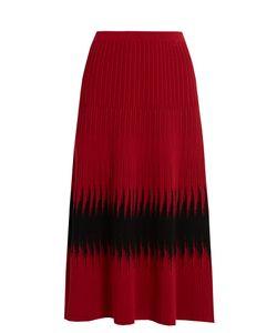 Tomas Maier | Abomb Ribbed-Knit Midi Skirt