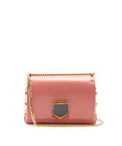 Jimmy Choo | Lockett Petite Leather Shoulder Bag