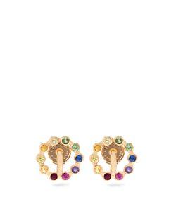 CHARLOTTE CHESNAIS FINE JEWELLERY | Saturn Extra-Small Stone Earrings