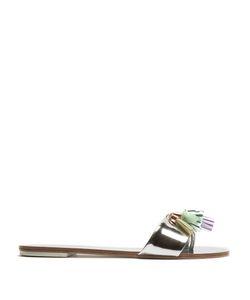 Sophia Webster | Jada Tassel Leather Slides