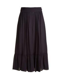 Chloé   Ruffled Etamine Culottes