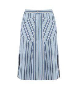 Isabel Marant | Sphery Striped Cotton Skirt