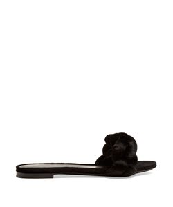 Marco de Vincenzo | Plaited Velvet Slides