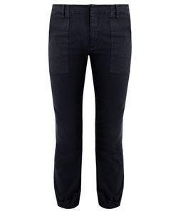 Nili Lotan | Stretch-Cotton Military Trousers
