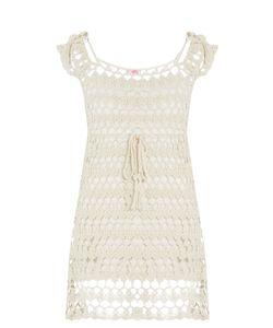 Anna Kosturova | Lilly Crochet Mini Dress