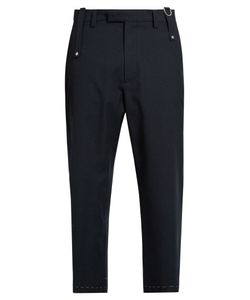 Oamc | Drift Wool-Blend Cropped Trousers