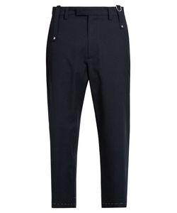Oamc | Drift Wool-Blend Cropped Trousers