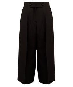 Valentino | High-Rise Wide-Leg Culottes