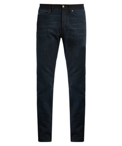 Lanvin | Contrast Waistband Slim-Leg Jeans