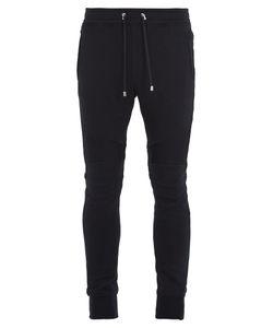 Balmain | Drawstring-Waist Cotton-Jersey Track Pants