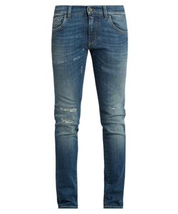 Dolce & Gabbana | Distressed Skinny Jeans