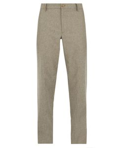 Giorgio Armani   Relaxed-Fit Wool-Blend Trousers