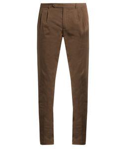 Boglioli | Slim-Leg Stretch-Cotton Chino Trousers
