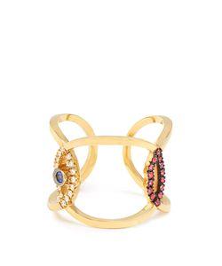 Delfina Delettrez | Diamond Ruby Sapphire Ring