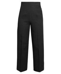 Fendi | Pleat-Front Wide-Leg Trousers