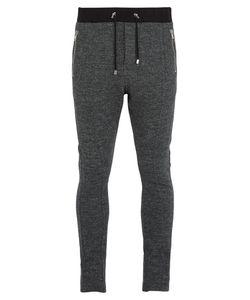 Balmain | Drawstring Wool-Jersey Track Pants