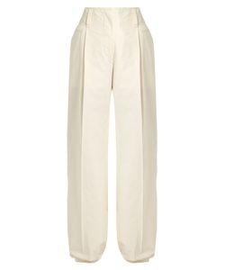 Lemaire | Wide-Leg Side-Pocket Cotton Trousers