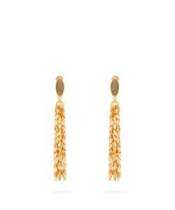 Sylvia Toledano | Leaves Plated Clip-On Earrings