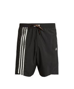 adidas x Kolor | Foil 3 Striped Running Shorts