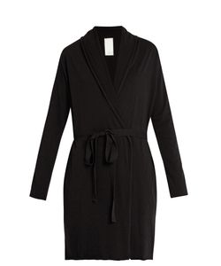 Skin | Double-Layer Pima Cotton-Jersey Wrap Robe