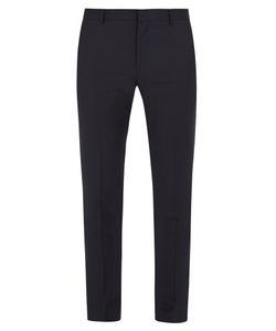Valentino | Side-Stripe Wool-Blend Trousers