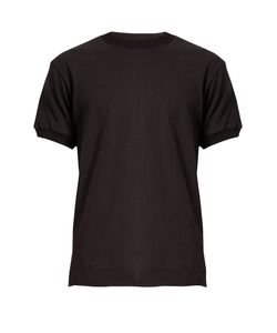 Fanmail | Exposed-Seam Hemp-Jersey T-Shirt