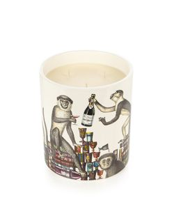 Fornasetti | Scimmie Otto-Scented Large Candle
