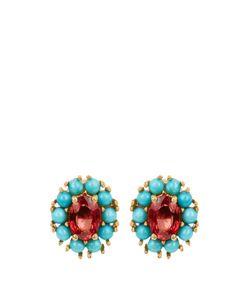 Ileana Makri | Sapphire Turquoise Earrings
