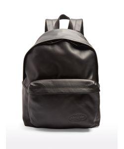Eastpak   Pakr Leather Backpack