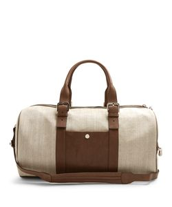 Brunello Cucinelli | Canvas And Leather Holdall