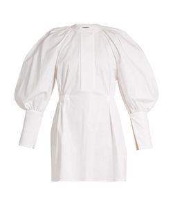 Ellery | Medusa Bubble-Sleeved Stretch-Cotton Mini Dress