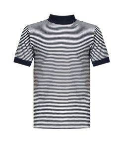 Blue Blue Japan | Crew-Neck Striped Cotton-Blend Jersey T-Shirt