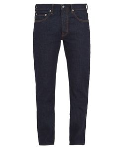 Stone Island | Mid-Rise Straight Leg Jeans